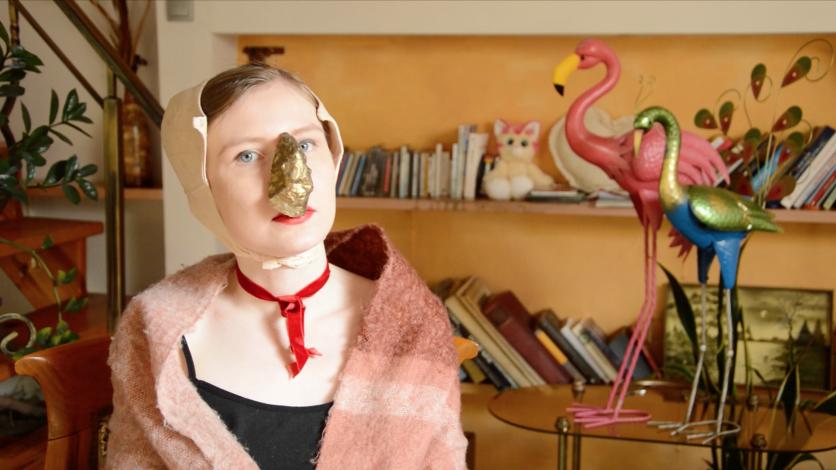 [VIDEO] Nna O'Klicka wearing the beautiful Golden Gnarl just for KOBAZAN