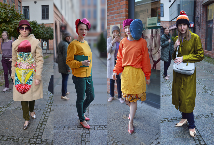 Have you met your doppelgänger while fashion streeting?